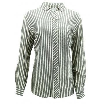 Szara bluzka  koszulowa...