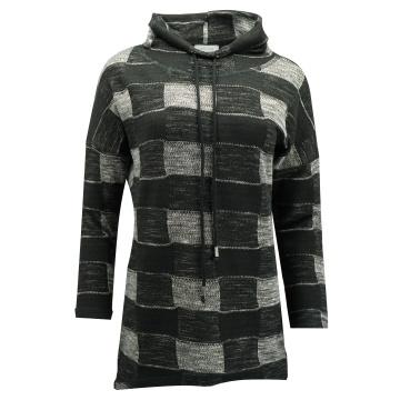Sweterek szaro-czarny...