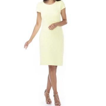 Cytrynowa sukienka z...