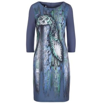 Niebieska sukienka we...