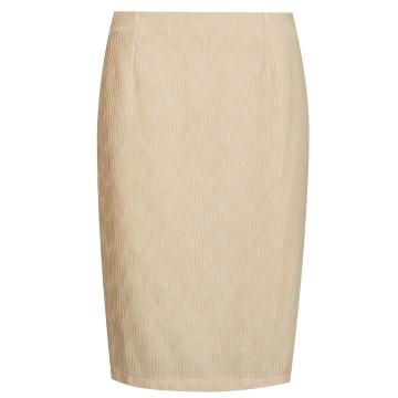 Łososiowa ołówkowa spódnica