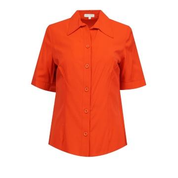 Czerwona bluzka koszulowa...