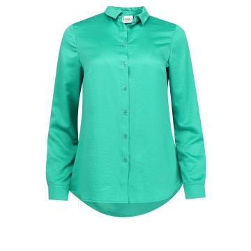 Zielona bluzka koszulowa...