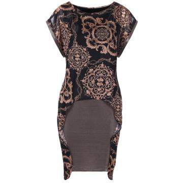 Czarna wizytowa sukienka w...