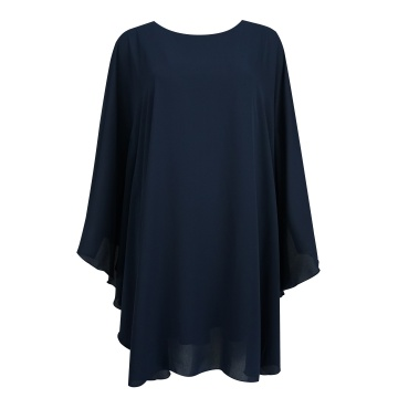 Granatowa sukienka, model Neti