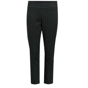 Prążkowane dzianinowe spodnie