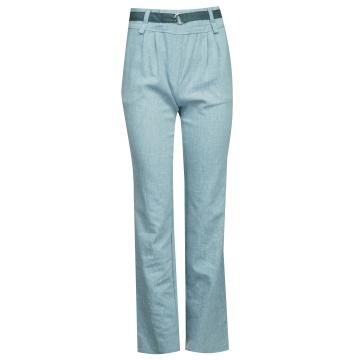 Niebieskie spodnie damskie...