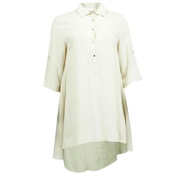 Beżowa tunika bluzka damska...