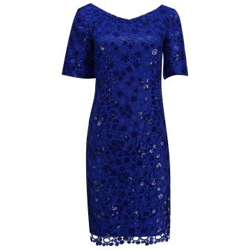 Chabrowa sukienka z...