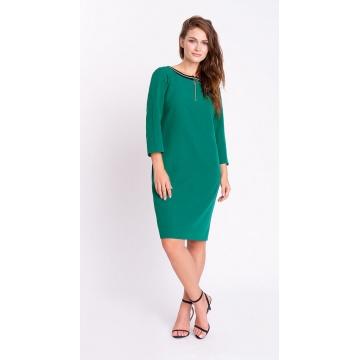 Zielona sportowa sukienka z...