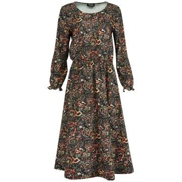 Czarna długa luźna sukienka...