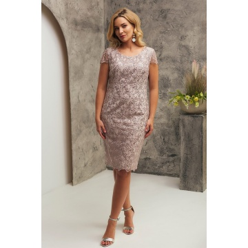 Różowa koronkowa sukienka,...