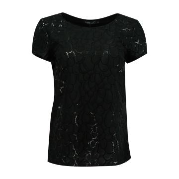 Czarna wizytowa bluzka...
