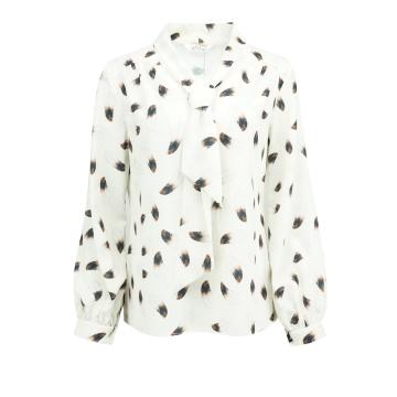 Kremowa bluzka damska model...