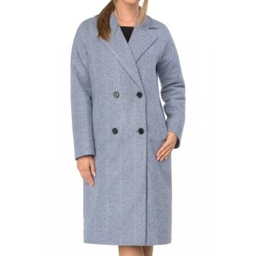 Płaszcz damski z wełną...