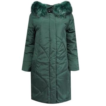 Zielona zimowa pikowana...