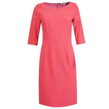 Różowa ołówkowa sukienka,...