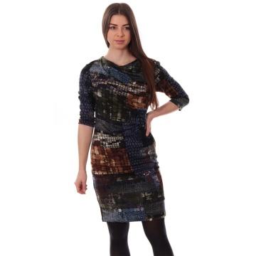 Dzianinowa sukienka w...