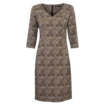 Sukienka z dekoltem w serek...