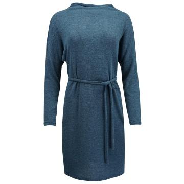 Granatowa wygodna sukienka...