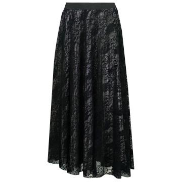 Czarna spódnica z koronki...