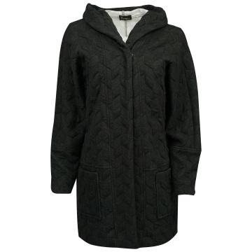 Grafitowa pikowana kurtka...