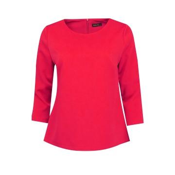 Czerwona bluza damska z...