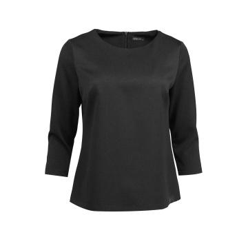 Czarna bluza damska z...
