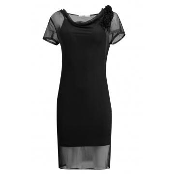Czarna wizytowa sukienka,...