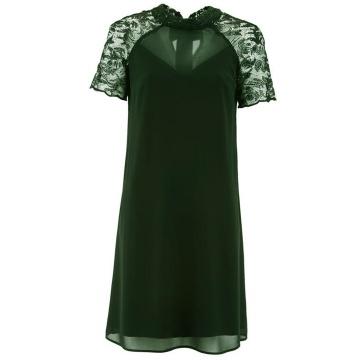 Zielona wizytowa sukienka,...