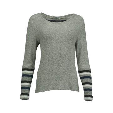 Szary sweterek damski z...