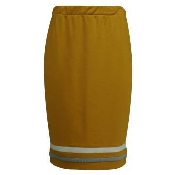 Miodowa ołówkowa spódnica...