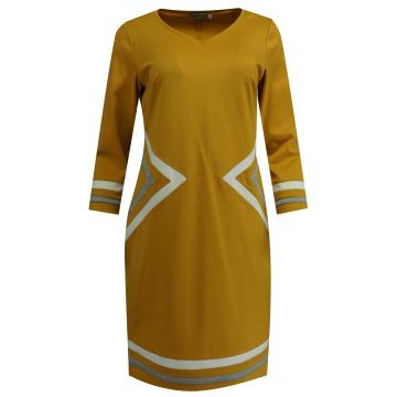 Miodowa sukienka, w...