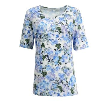 Bluzka damska niebieskie...
