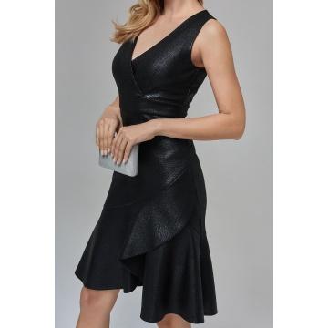 Sukienka wizytowa czarna z...