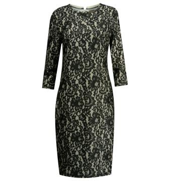 Czarna sukienka wzór...