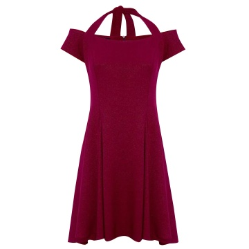 Sukienka wiśniowa wizytowa...
