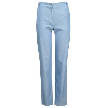 Spodnie damskie niebieskie...