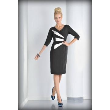 Sukienka czarno-biała Eryka