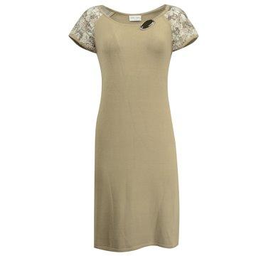 Sukienka beżowa 14213
