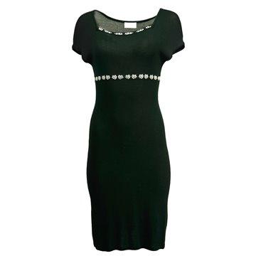 Sukienka czarna 2723