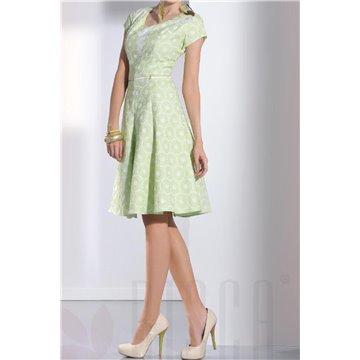 Sukienka model Neli miętowa