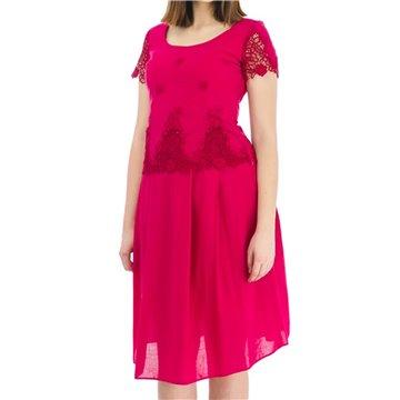 Komplet damski model Malina bawełna
