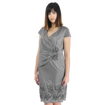 Sukienka model Paloma stalowa