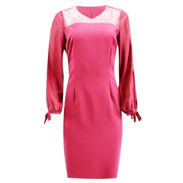 Sukienka model Rafaella różowa