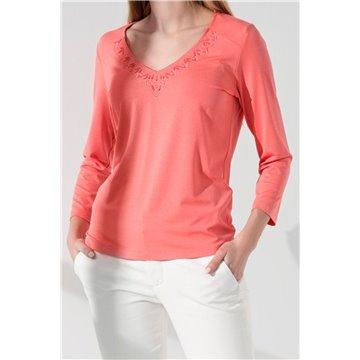Bluzka damska I06-4-61 różowa