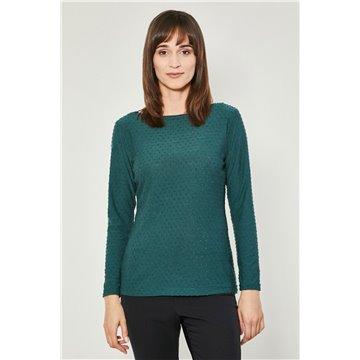 Bluzka damska zielona model Lenola