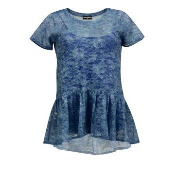 Bluzka damska Chessa niebieska