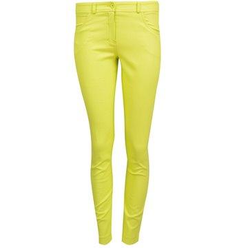 Spodnie damskie model Maraca żółte