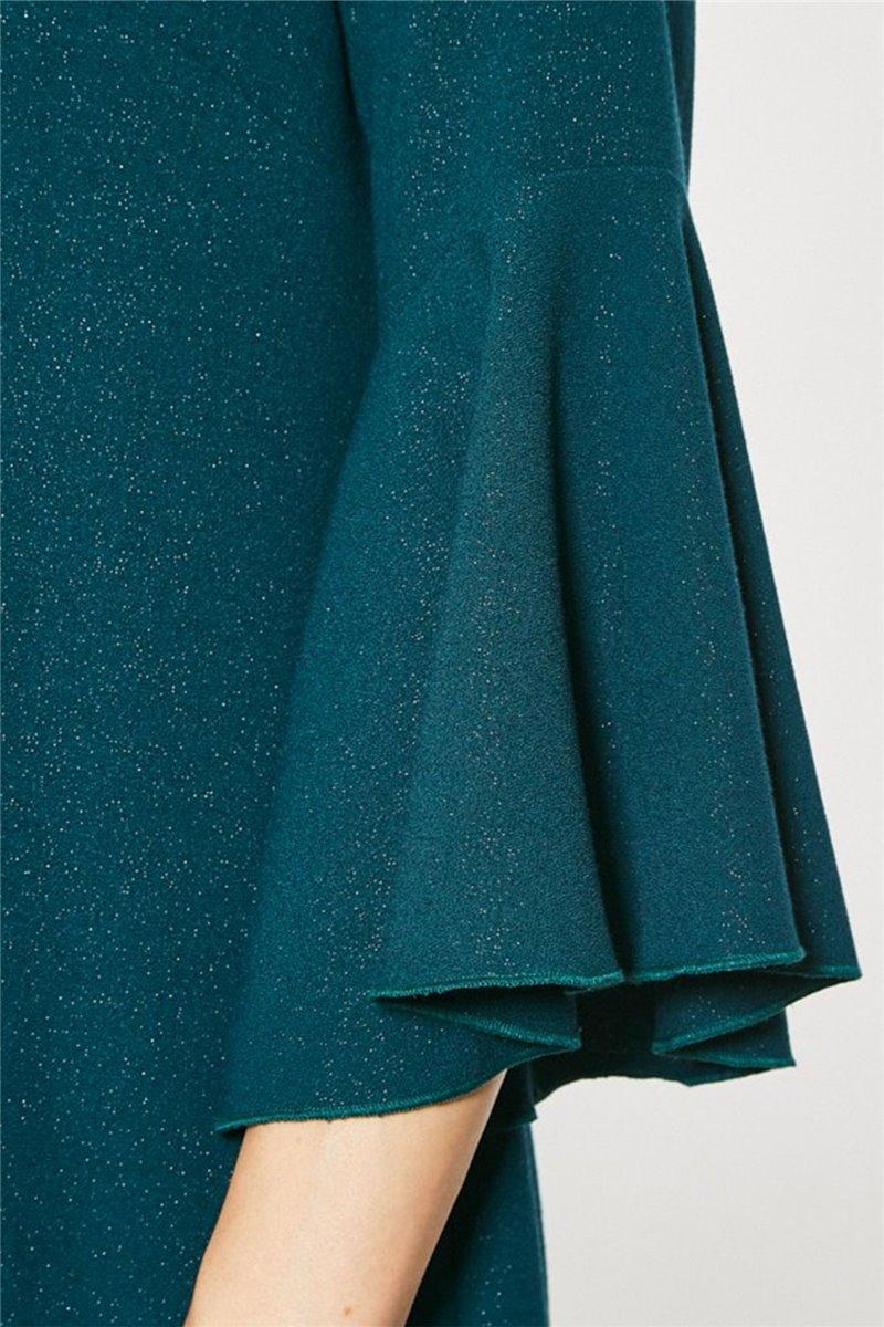 Sukienka wizytowa model Karas zielona